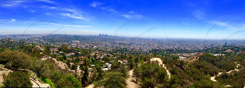 A Day In L.A. - Los Angeles Skyline photo