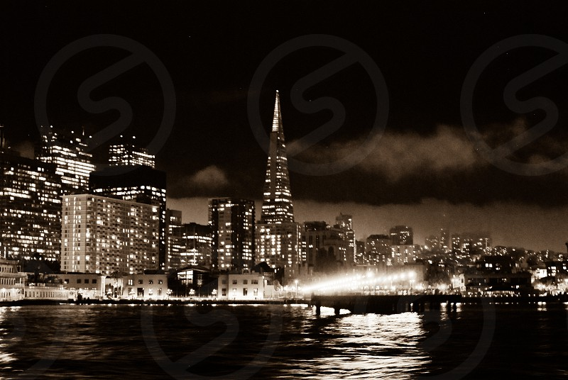 city night lights photography photo