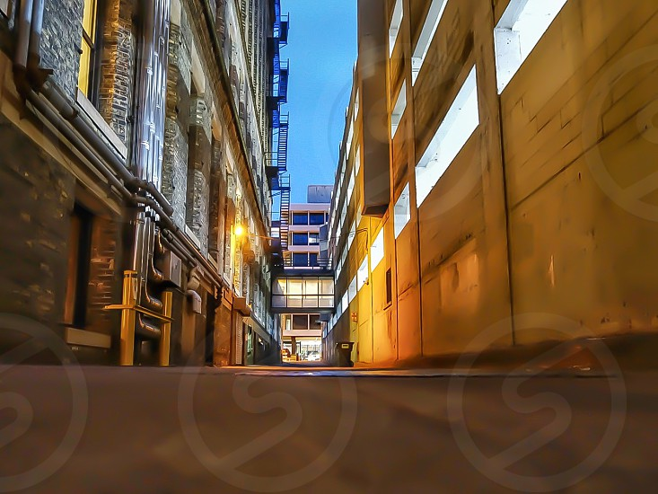 St. Paul alleyways photo