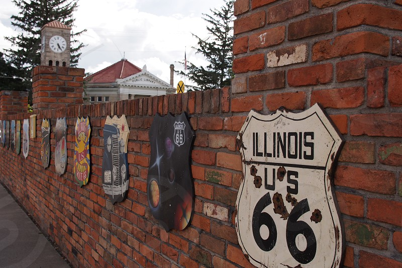 Travel Route 66. photo
