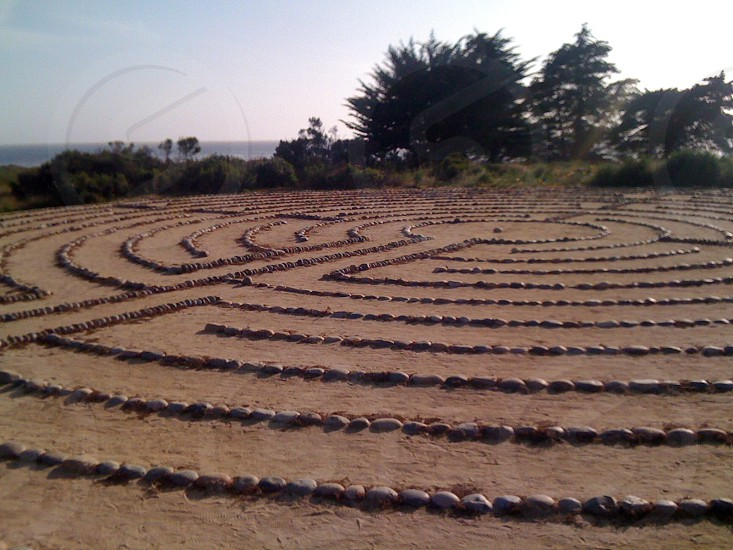 Labyrinth of Inspiration at UC Santa Barbra photo