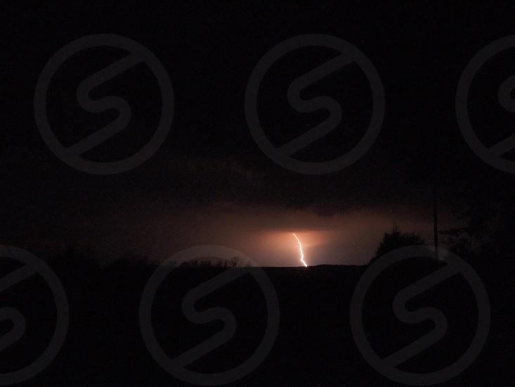 Got this shot of lightning. Strong bolt photo