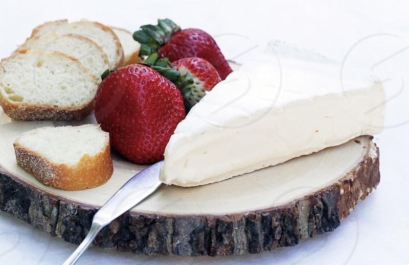 appetizers strawberries brie cheese cheese brie food photo