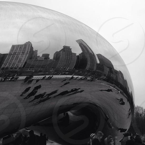 cloud gate chicago photo