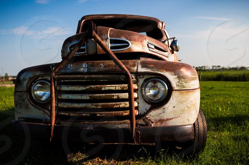 Rusty Old Farm Truck photo