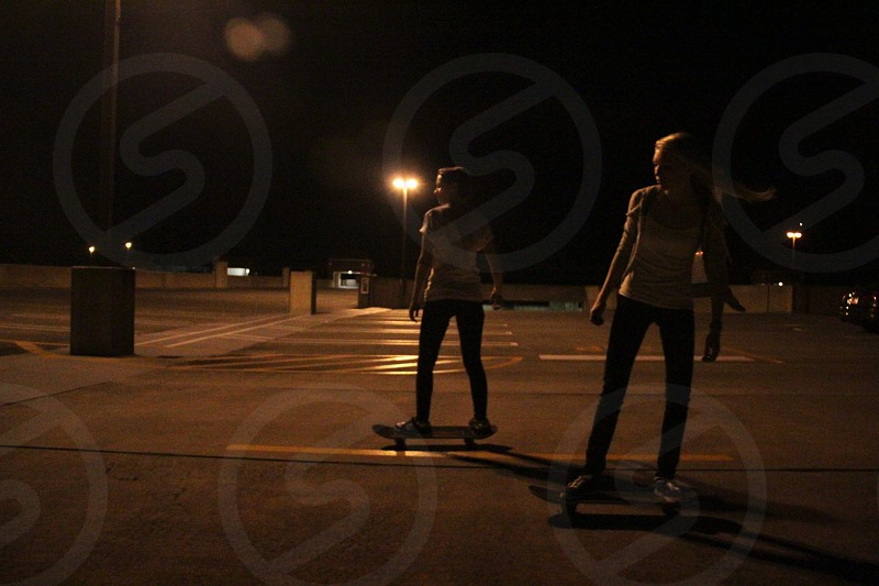 Midnight skate sessions photo