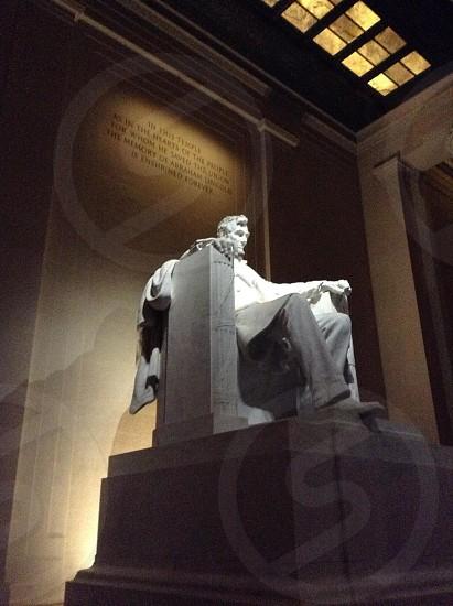 Abraham Lincoln Memorial.  photo