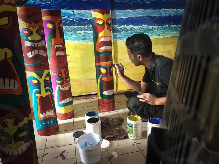 Art of fijian hawaiian deform party  photo