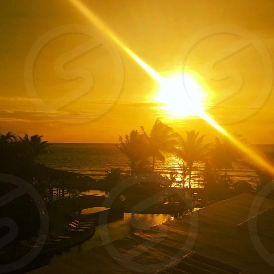 Sunset Mexico   photo