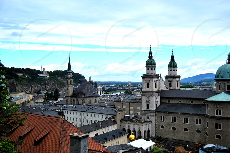 Top view of Salzburg photo