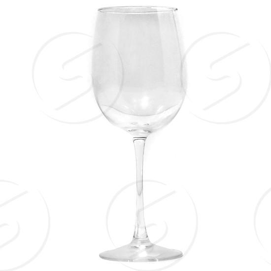 clear wine glass closeup photo photo