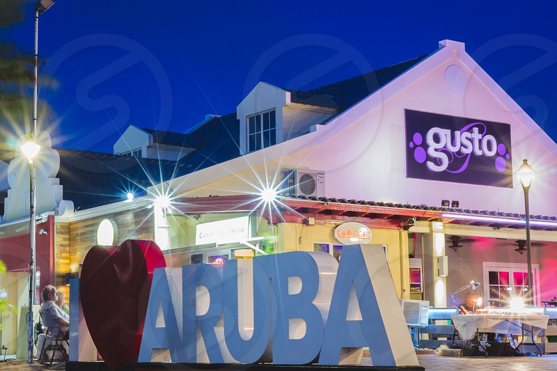 I heart Aruba photo