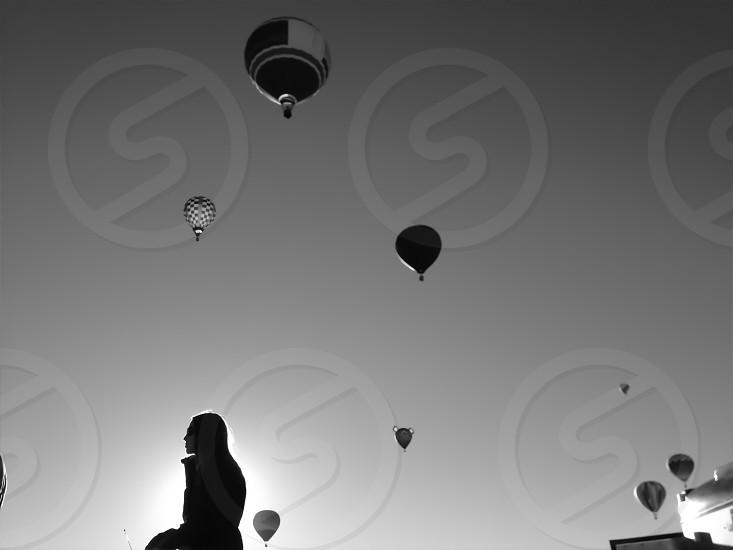 hot air balloon photo  photo