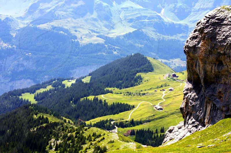 Switzerland. Green paradise photo