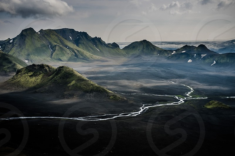 Highlands in Iceland photo