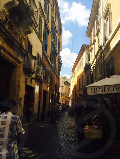 Streets of Rome  photo