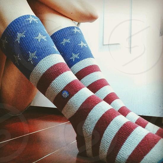 Stance American flag socks  photo