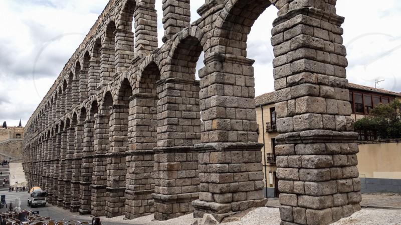 Aqueduct of Segovia - Segovia Spain photo