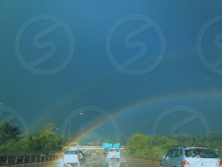Wow double rainbow  photo