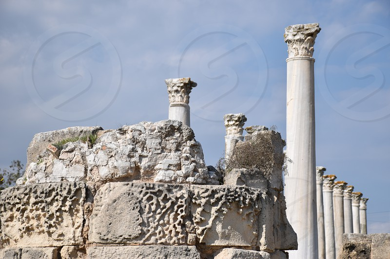 Salamis Cyprus photo