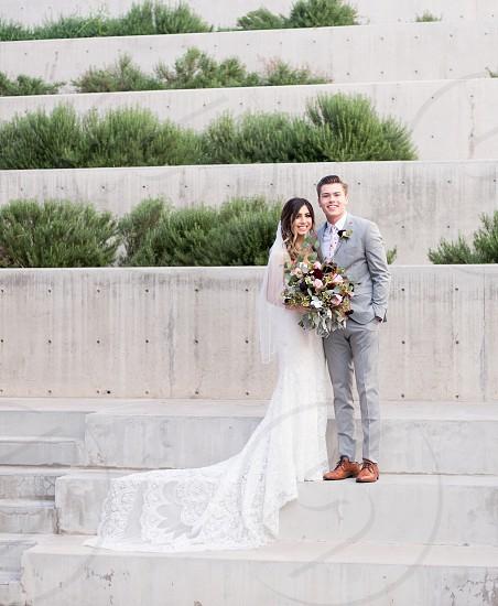 Mesa Arizona wedding - urban setting photo