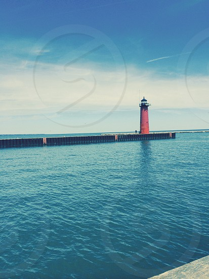 Lighthouse on Lake Michigan: kenosha wi  photo