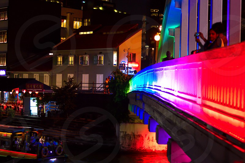 Neon lights photo