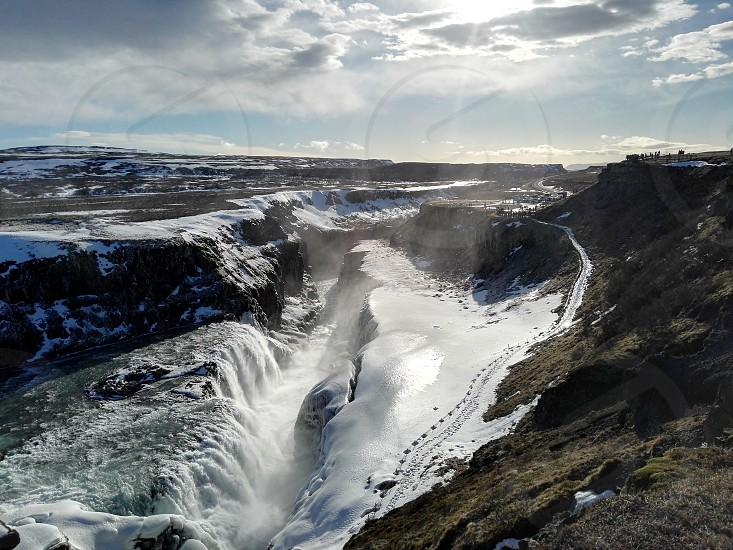gulfoss Iceland photo
