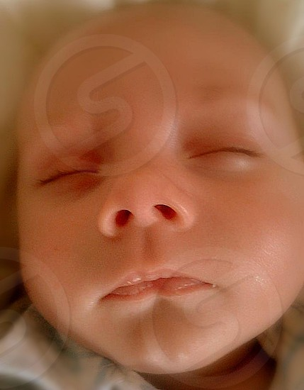 baby sleeping photo
