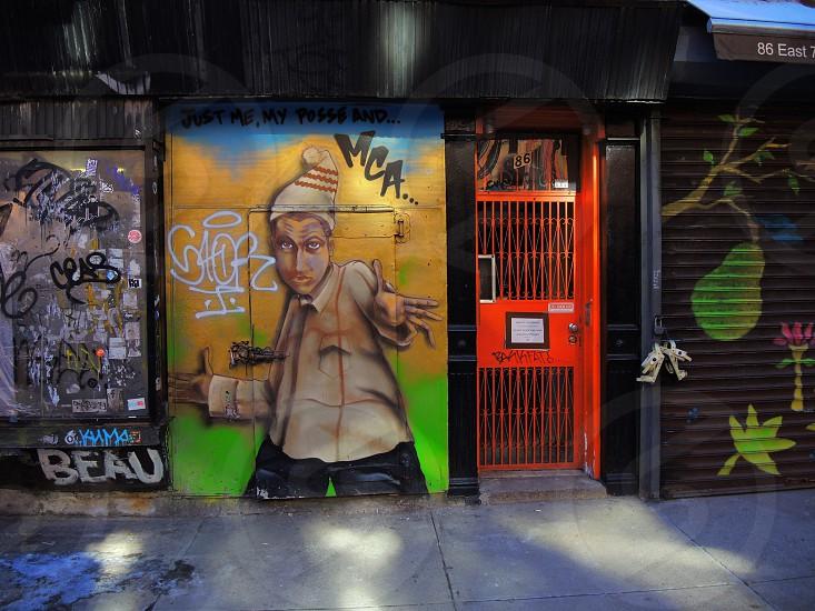 street graffiti photo