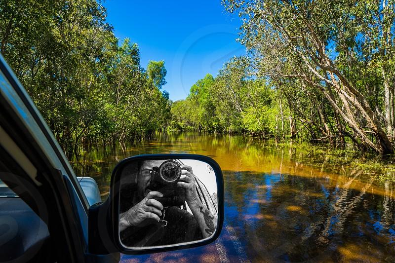Wet Season road trip through Kakadu National Park Northern Territory Australia. photo