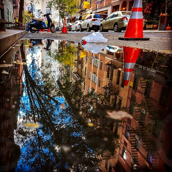 The streets of New York photo