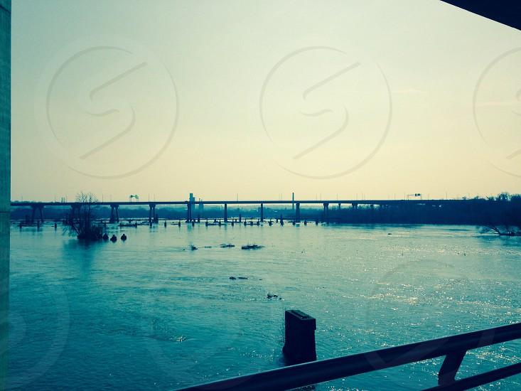 Bridge to Belle Isle. Richmond VA photo
