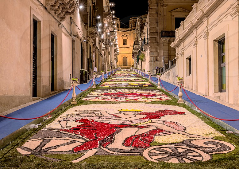 The Flower Festival of Noto in Sicily photo