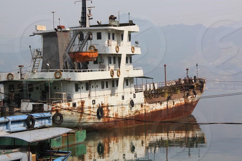Rusting Ship photo