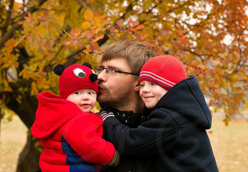 Dad with sons love guys boys happy amazing sweet family photo