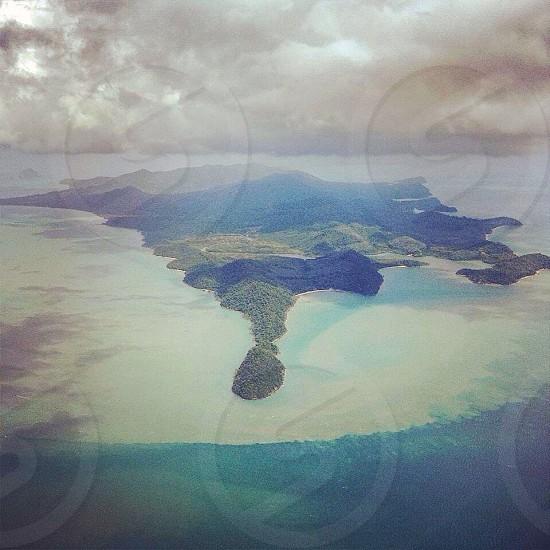 island aerial view photo