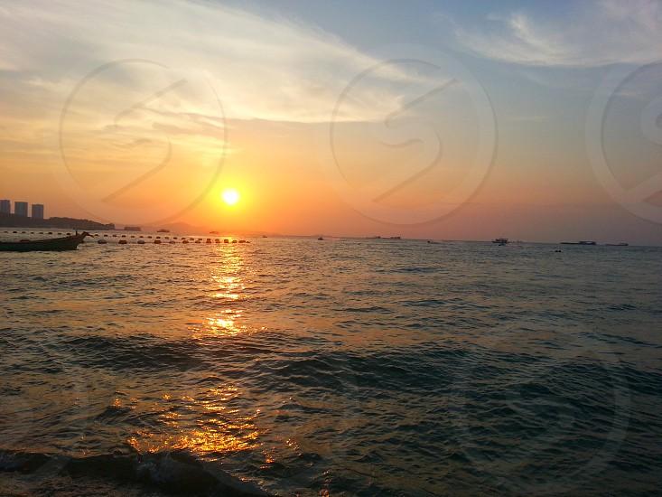 Pattayan beach Thailand photo