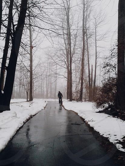 black walkway photo