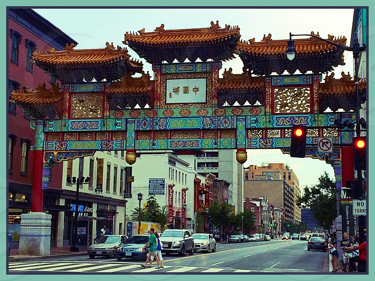 Washington DC - China Town photo
