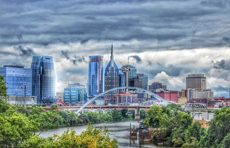 Memphis TN in a HDR view photo
