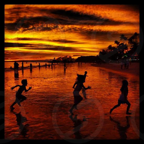 Boracay Sunset photo