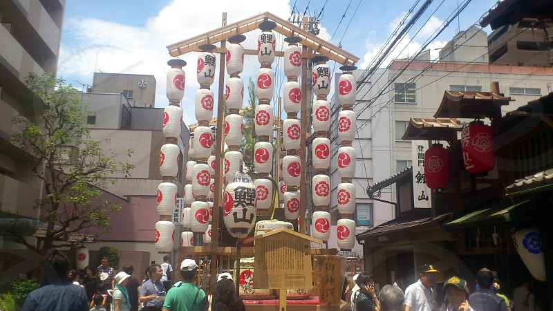 Kyoto Gion Festival.  photo