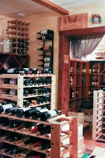 Onotria wine room - vertical photo
