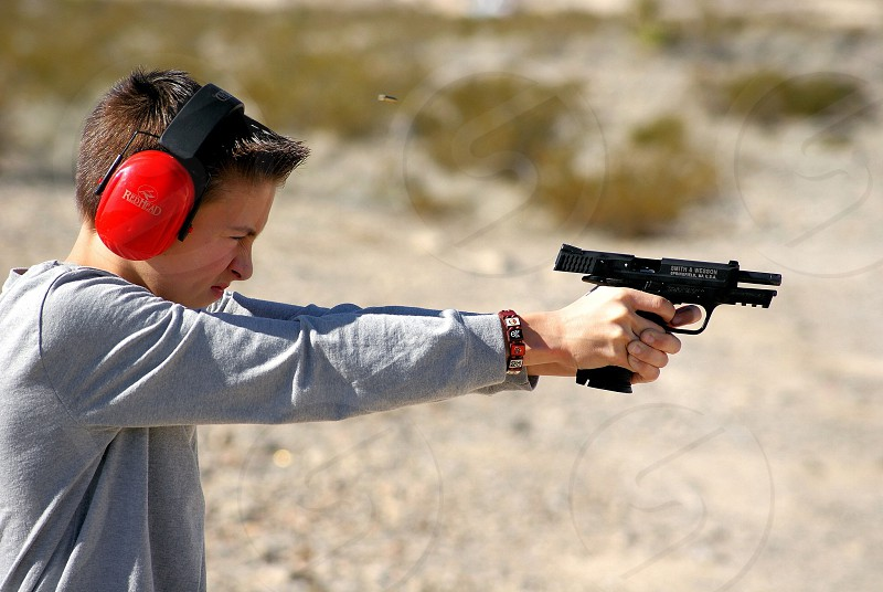 Teach children gun safety photo