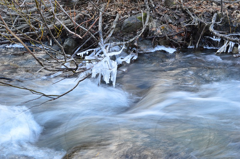 flowing river photography photo
