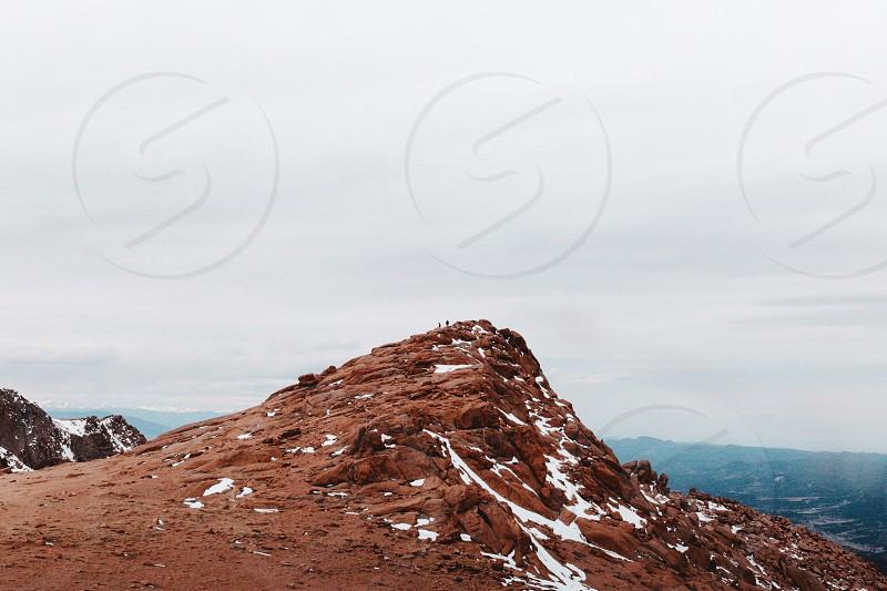 Pikes Peak Mountains Nature  photo