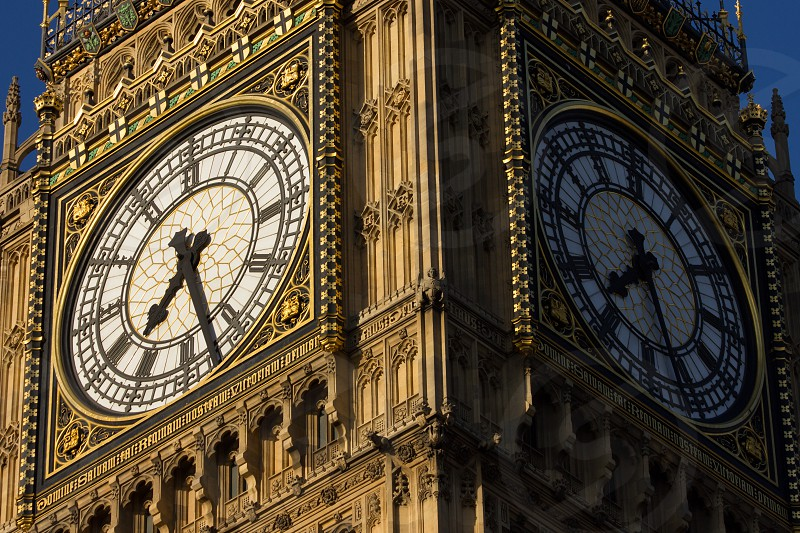 Big Ben London - England in close up. photo