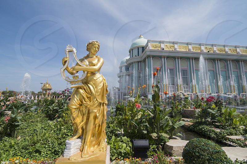 the Sukhawadee Palace near the city of Pattaya in the Provinz Chonburi in Thailand.  Thailand Pattaya November 2018 photo