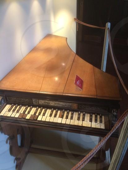 harpsichord oldest museum milan Italy photo